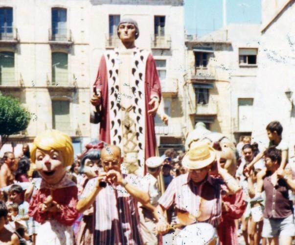 Gegant de Vinaròs. Gegant Vell, Ferrán el Catòlic, Fernando el Catolico.
