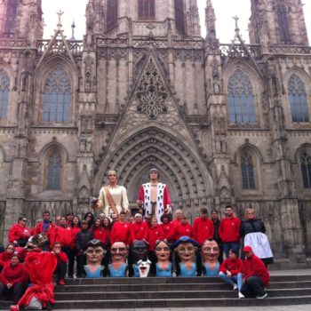 Nanos i gegants a Barcelona